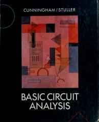 Cover of: Basic circuit analysis | David R. Cunningham