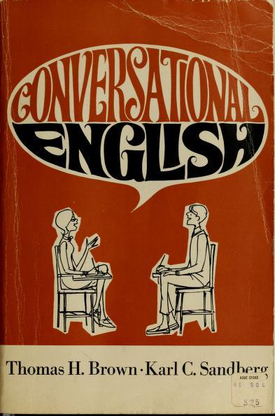 Conversational English by Thomas Harold Brown